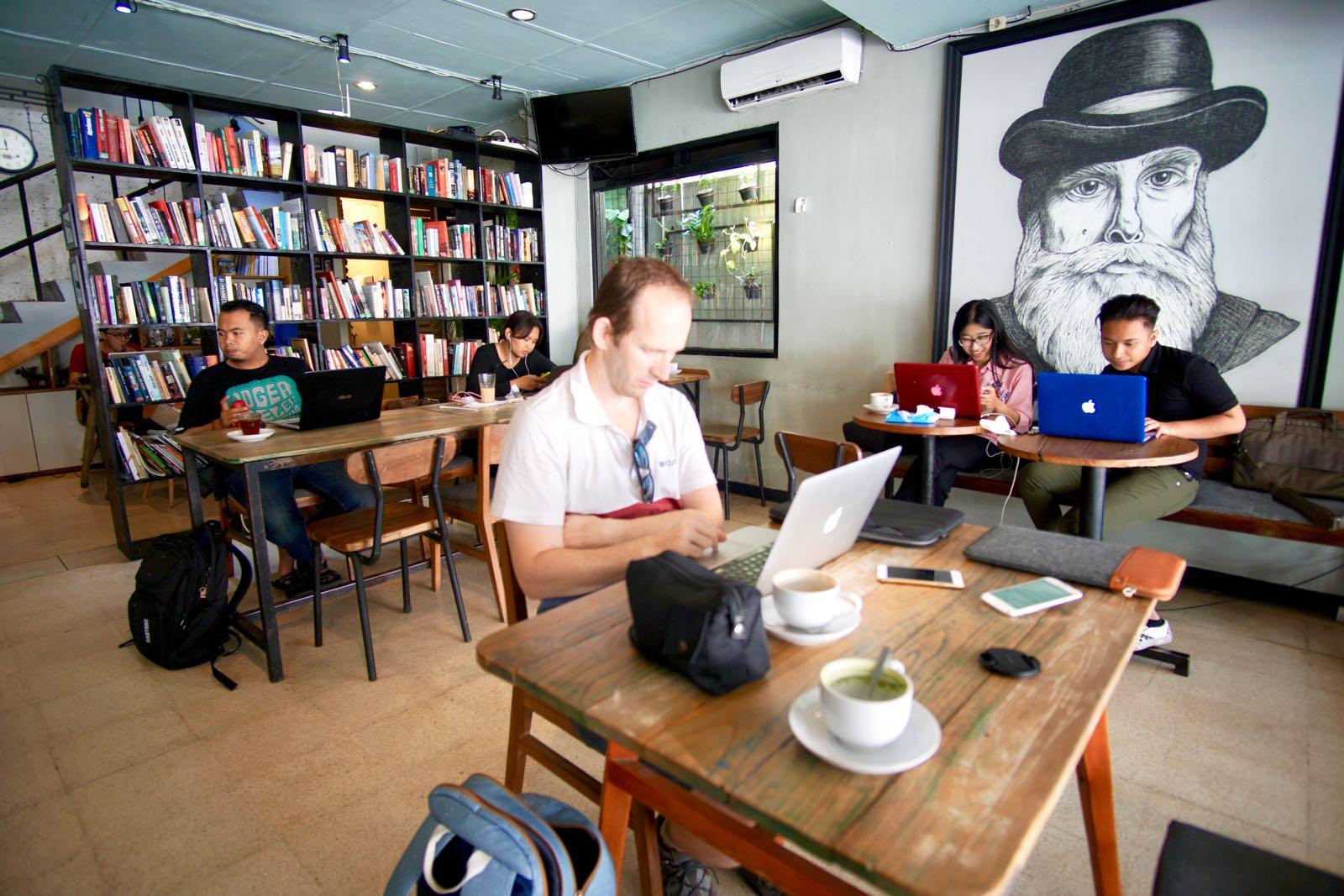 Blanco Coffee Book Yogyakarta