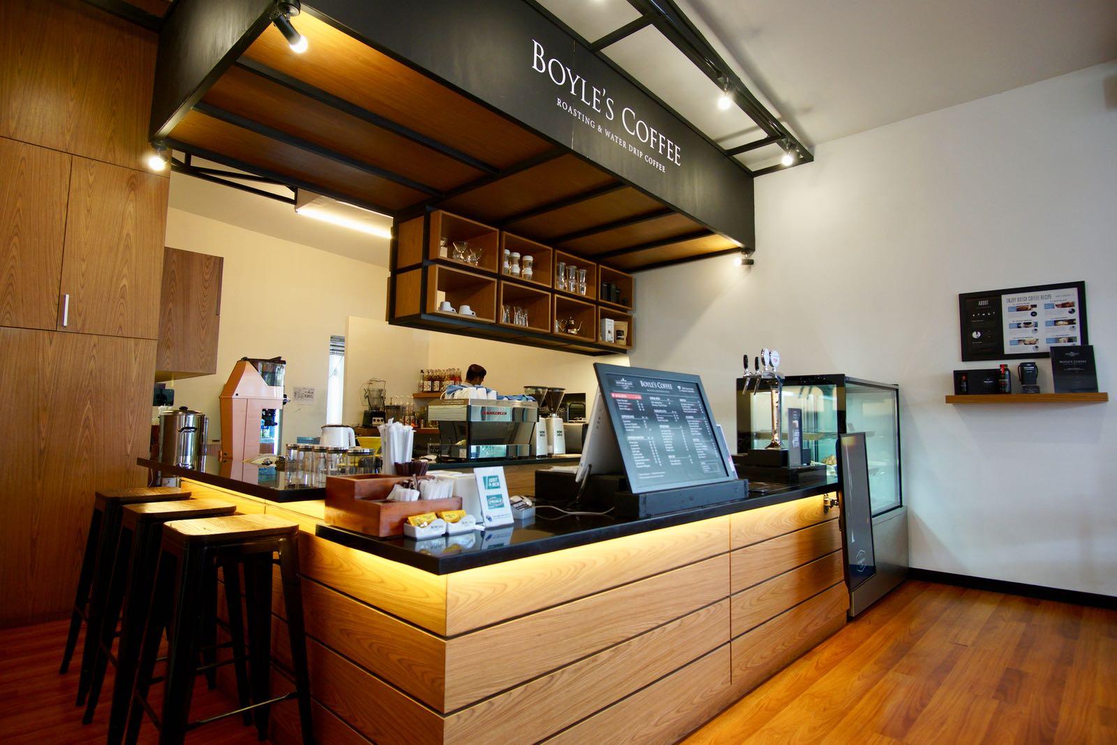 Boyles Coffee Bandung Counter