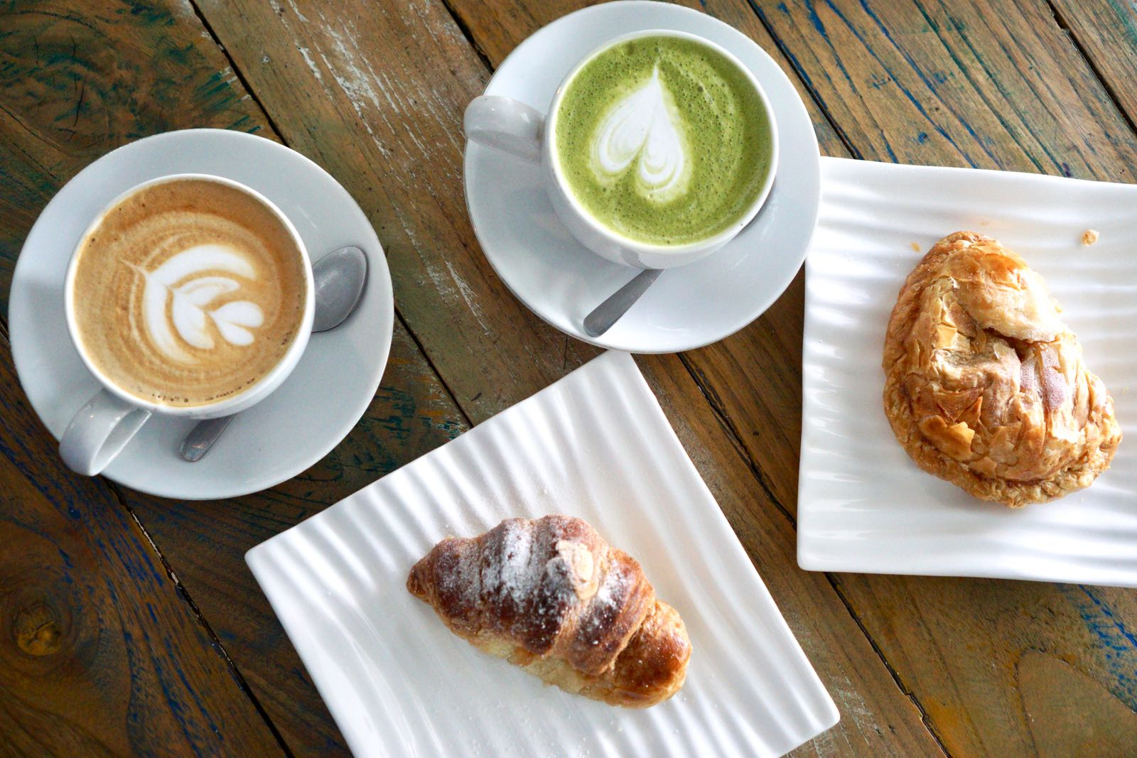 Coffee And Pastry Blanco