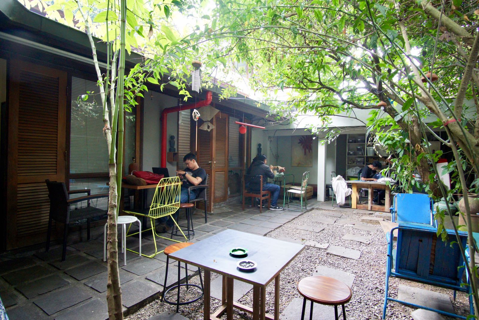 Budaraa Bandung Outside