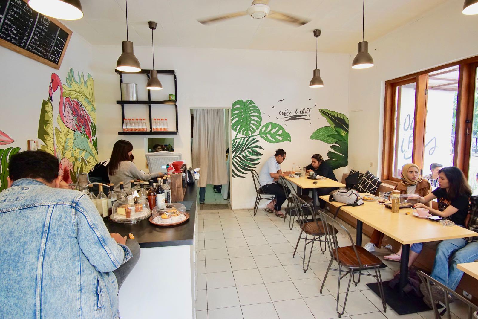 911 Coffee Lab, Bandung Inside