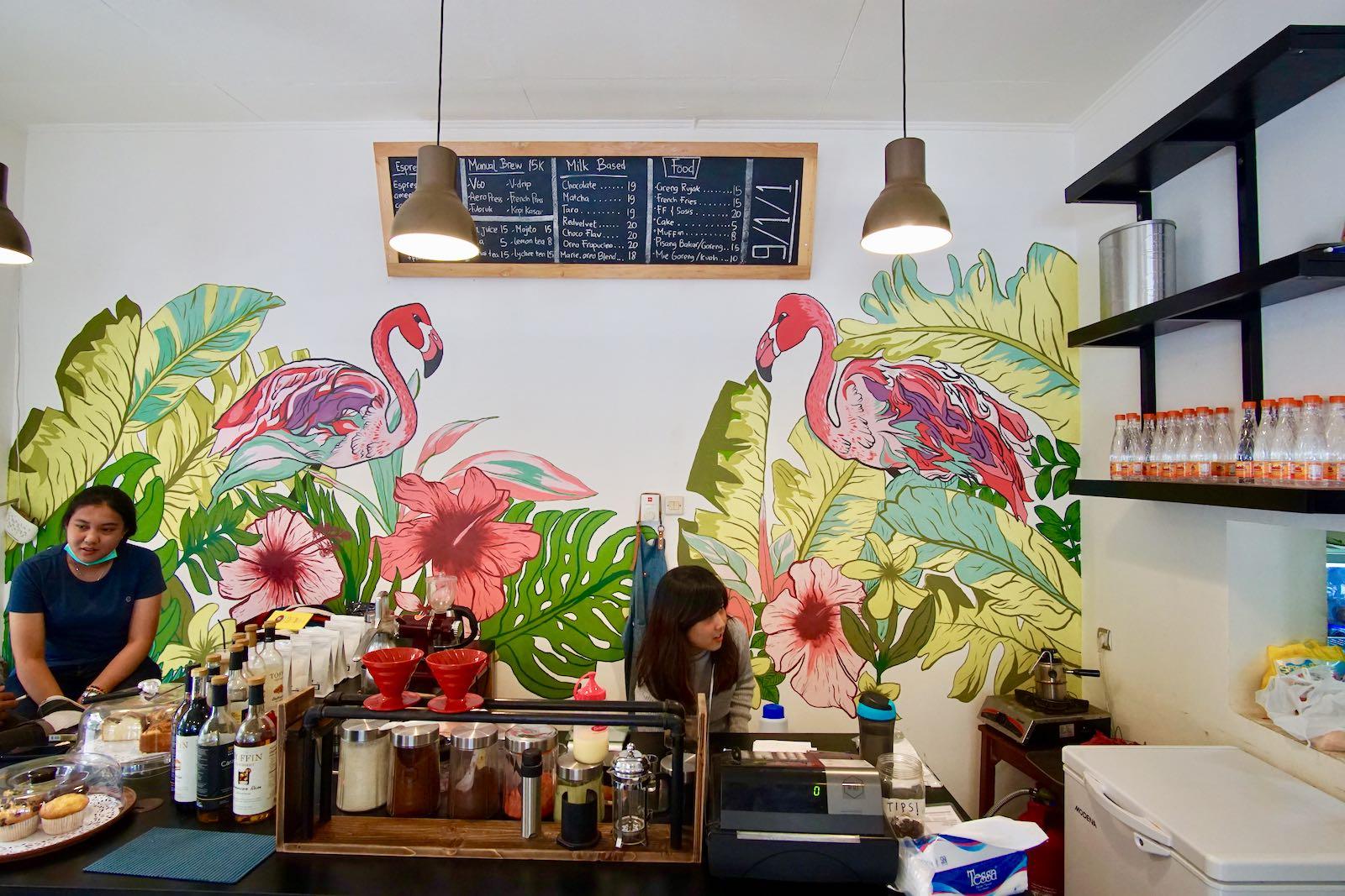 911 Coffee Lab, Bandung Mural