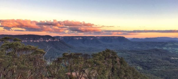 Best Sunset Spots In Blue Mountains