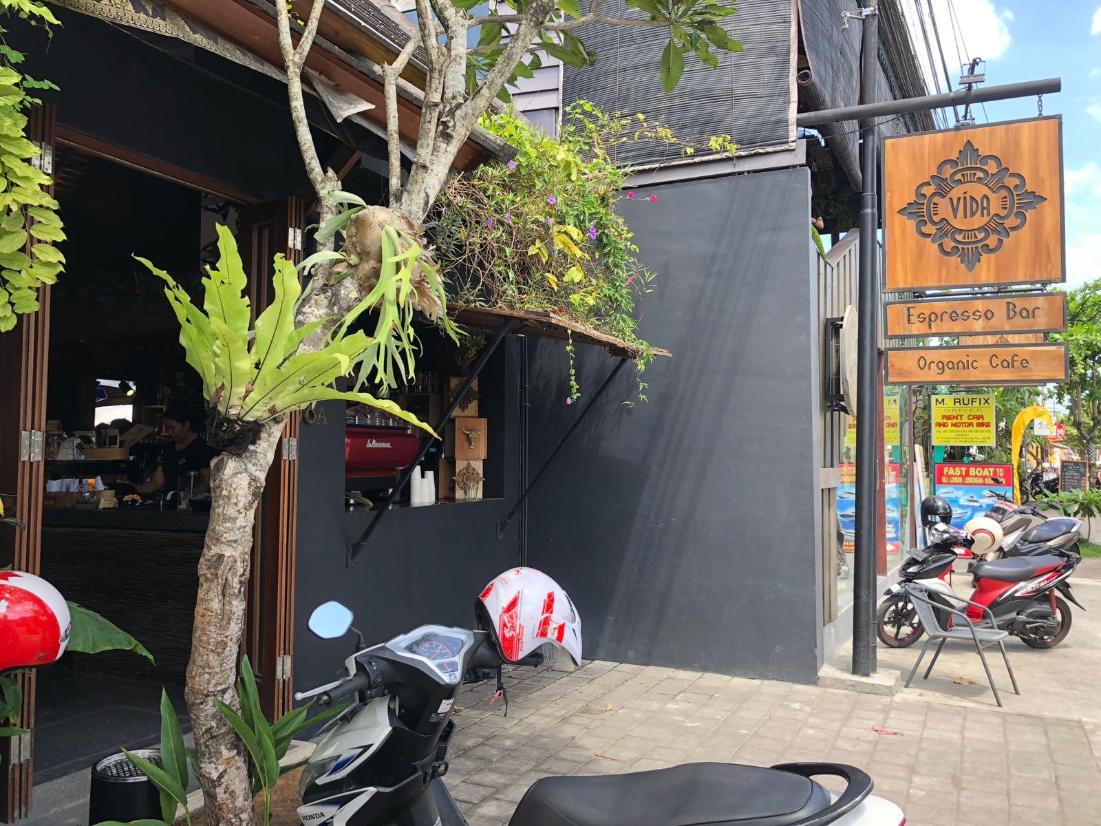 Cafe Vida Canggu Exterior