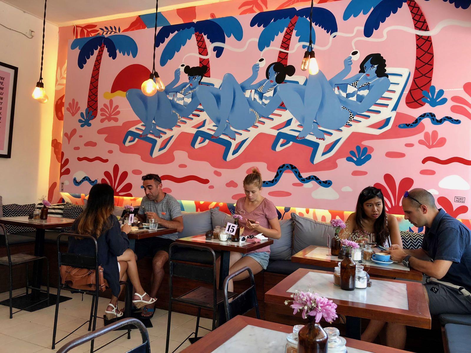 Ruko Cafe Canggu Interior 2