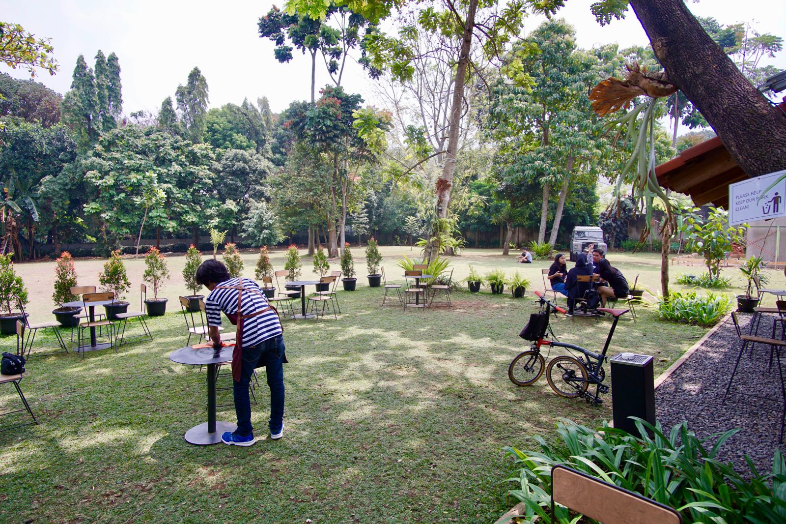 Large Garden At Masagi Koffee