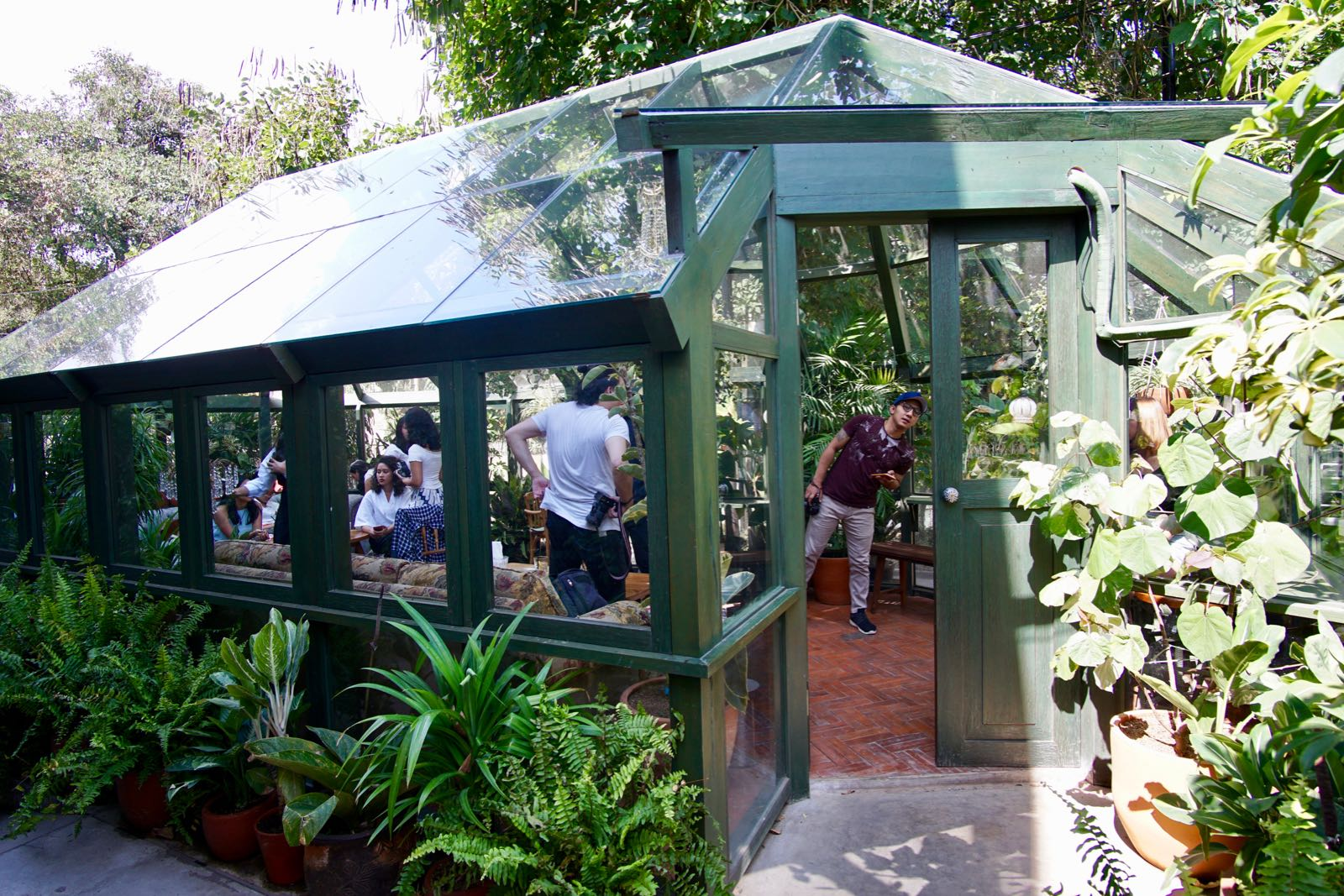 Glass House Potting Shed Bandung