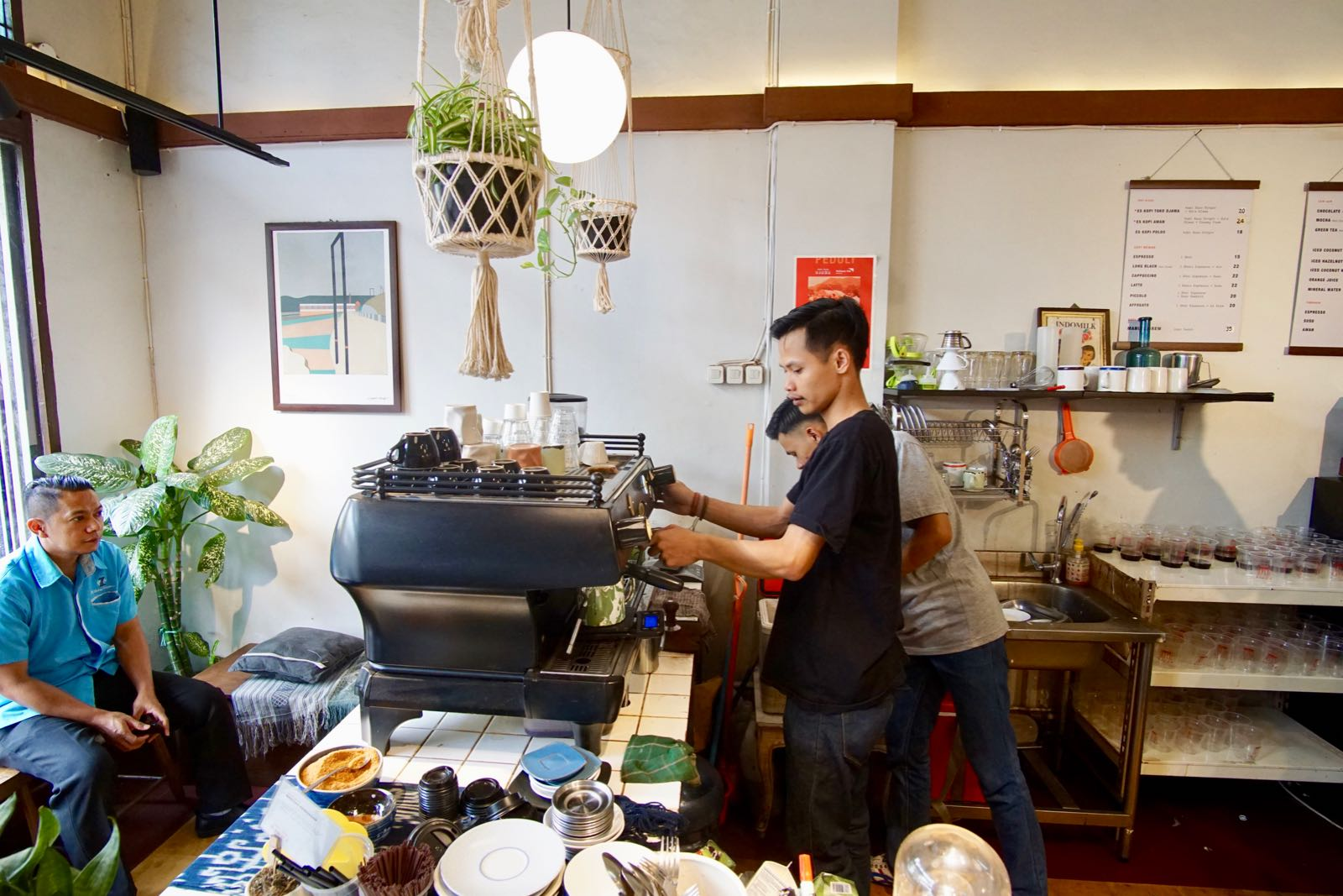 Kopi Toko Djawa Coffee Shop Bandung