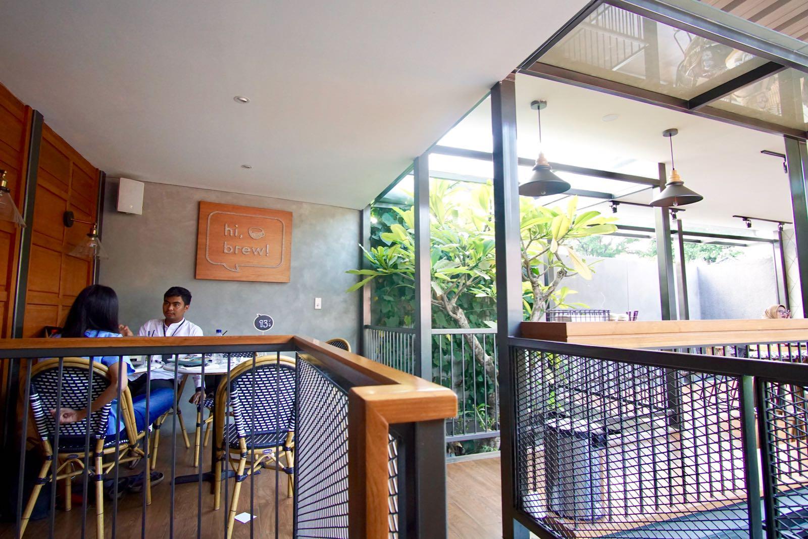 Upper Floor Outdoor Hi Brew Bandung