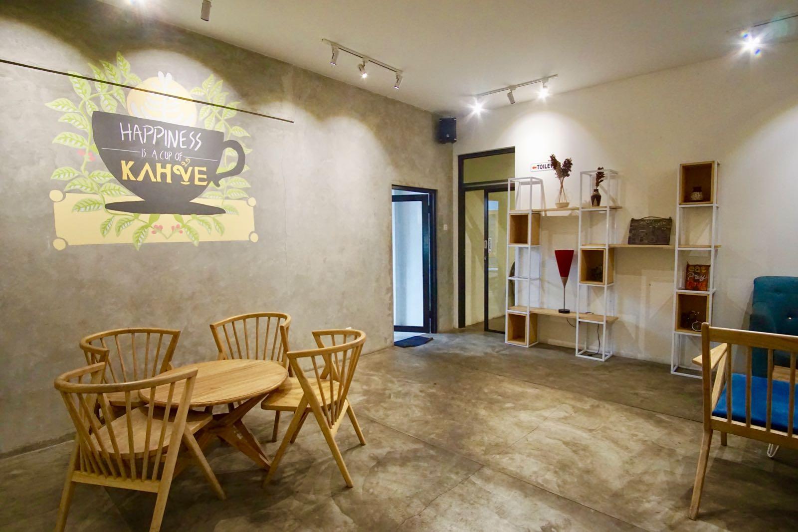 Interior Kahve Bandung