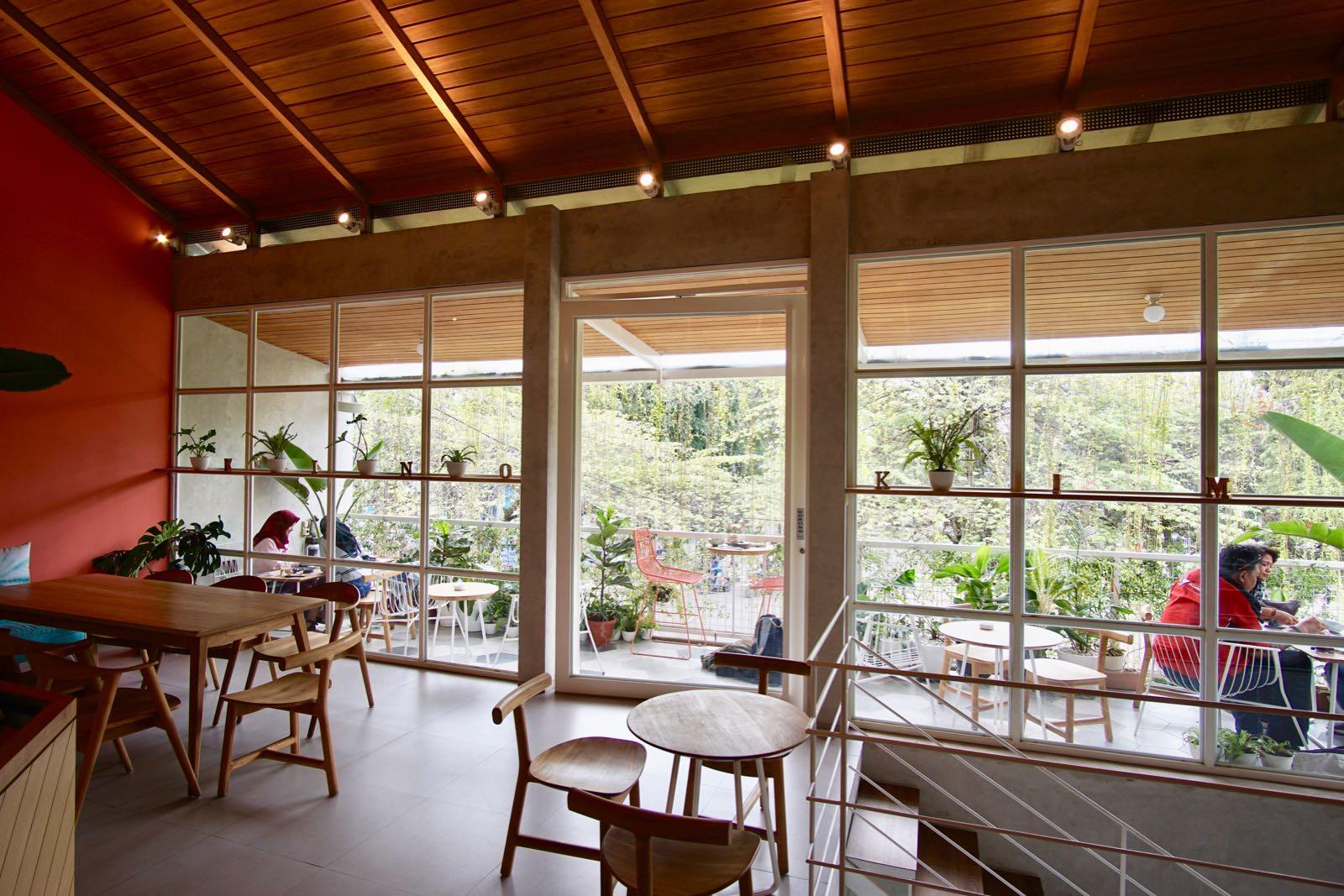 Kinokimi Coffee Bandung Inside Cafe