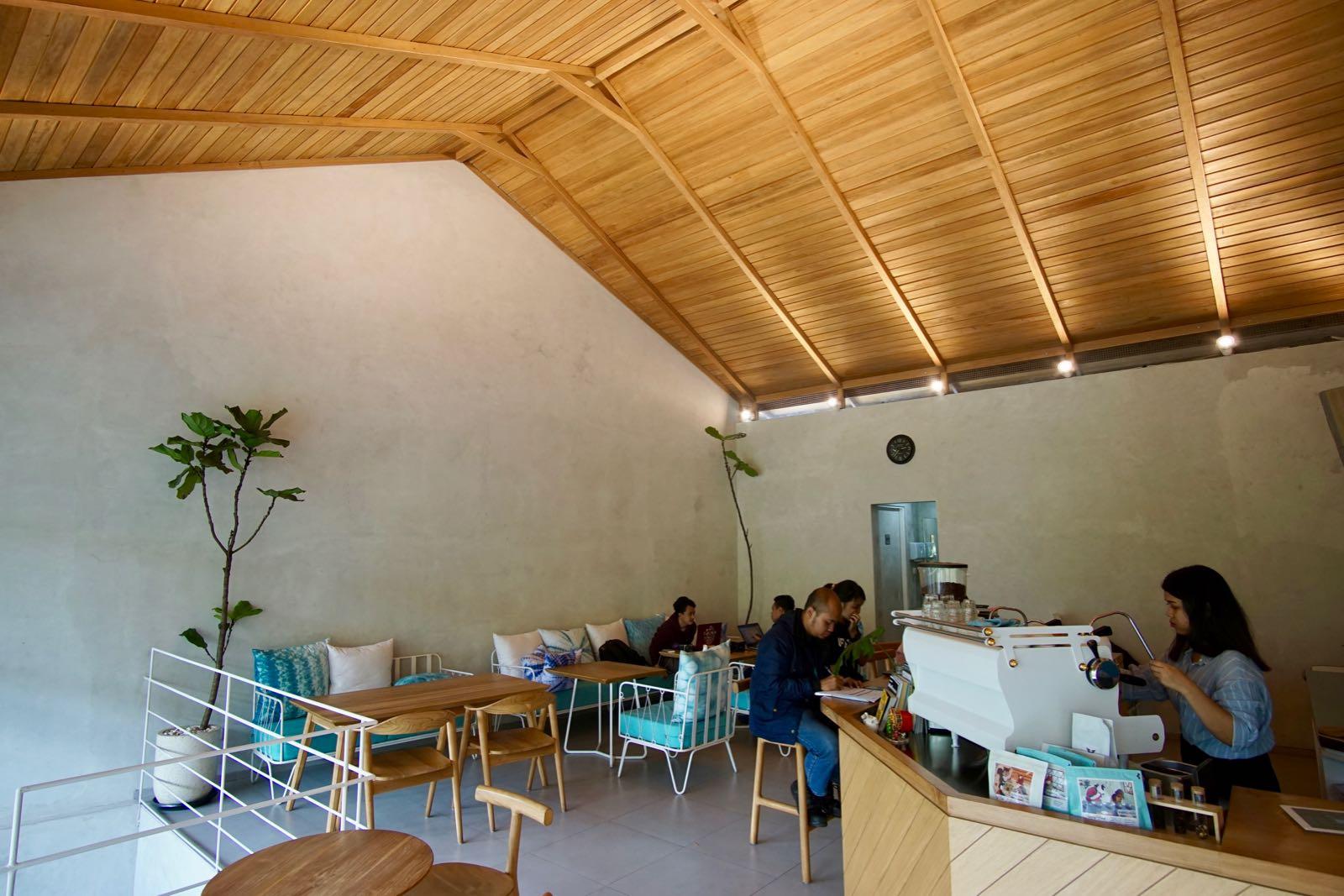 Kinokimi Coffee Bandung Inside