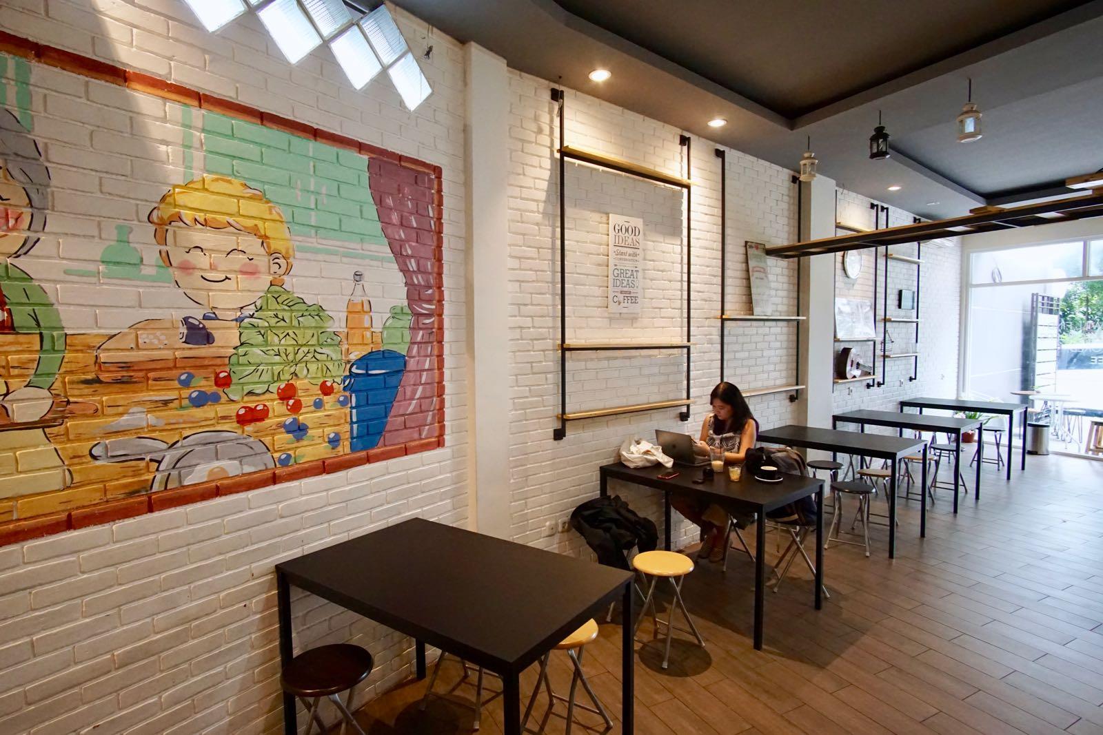 Noima Coffee Bandung Inside