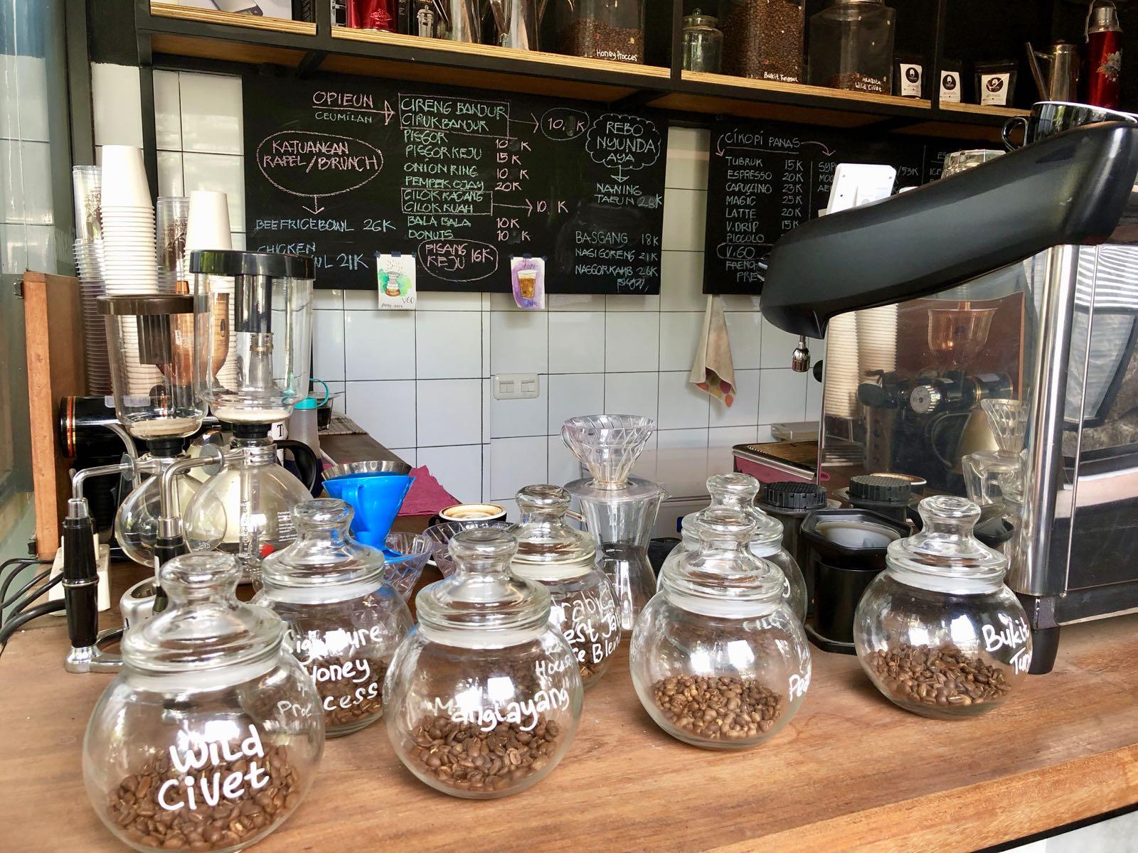 Taeun Coffee Bandung