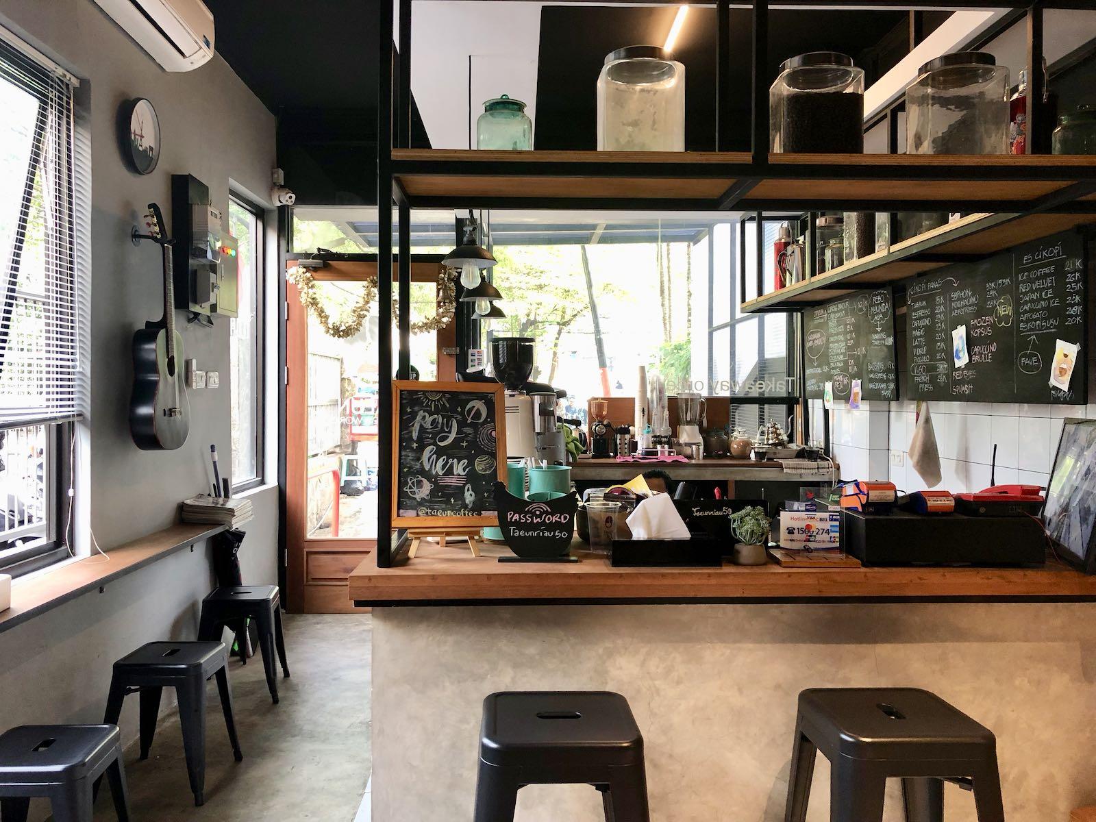 Taeun Tempat Ngopi Bandung