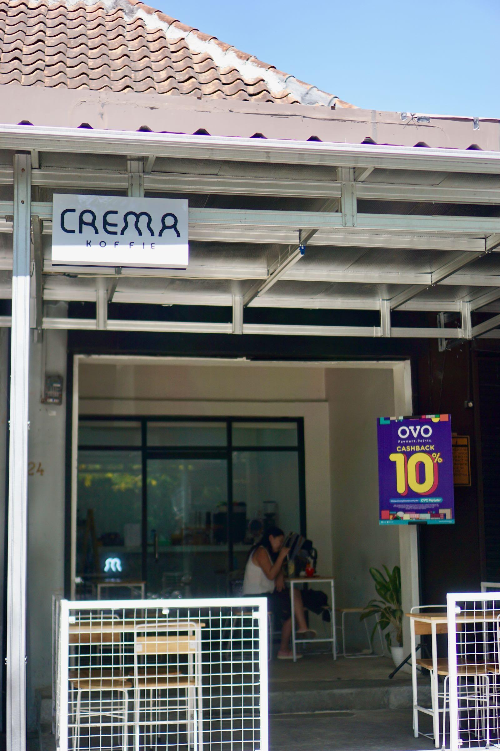 Crema Koffie Coffeeshop Bandung