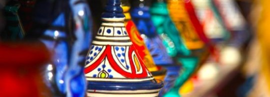 Tagines in Chefchaouen