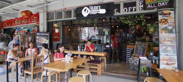 Tolido's Espresso Nook Bugis Singapore front