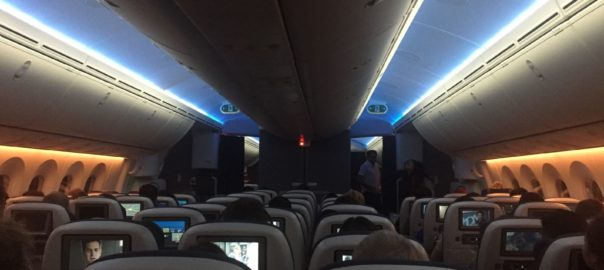 BA34 787 9 Economy Cabin